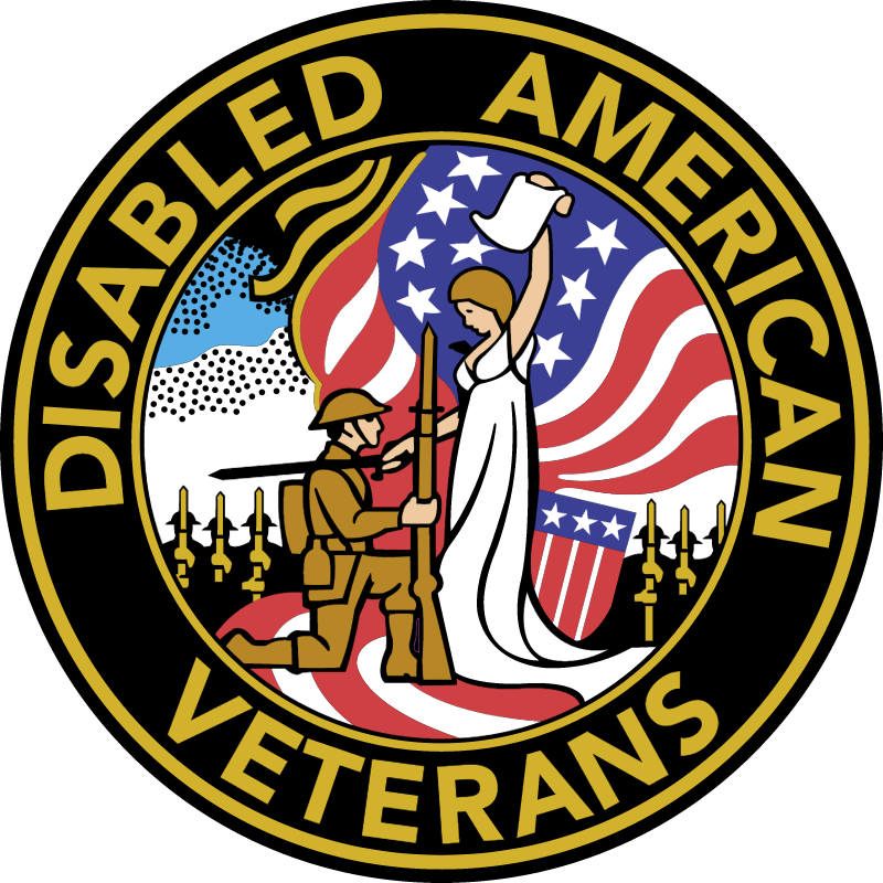 Disabled American veterans Logo